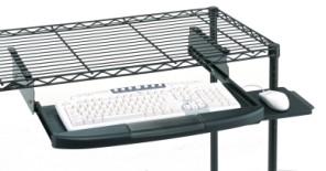 Metro Retractable Keyboard Shelves