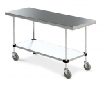 Metro Small Mobile Clean Tables 24