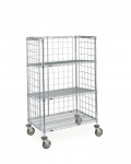 Metro Slanted Shelf Carts