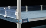 Metro MetroMax Q Solid Clear Stackable Ledges