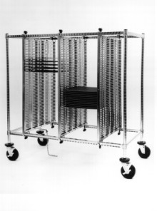 Metro Standard-duty Horizontal Hold Carts (CBH Style)