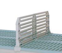 Metro MetroMax i Stem Caster Cart Polymer Dividers