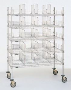 Metro Gowning Room Garment Rack Carts