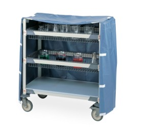 Metro Cart Covers for Glassware Carts