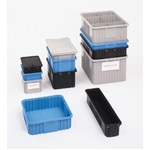 Metro Benstat Blue Static Dissipative Bins