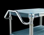 Metro MetroMax i Stem Caster Cart Easy-grip Handles