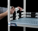Stackable Shelf Ledges