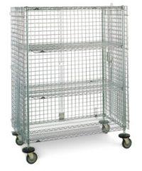 Metro qwikSLOT Security Carts