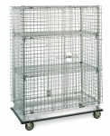 Metro Super Erecta Heavy-duty Mobile Security Units