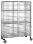 Metro Stainless Standard-duty Security Carts