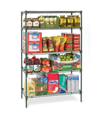 Shelf with Products