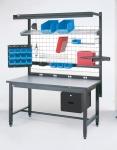 Metro SmartBench Swing Arm Monitor/Keyboard Holders