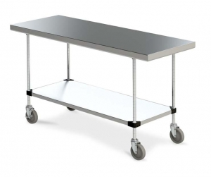 metro mobile tables 24""