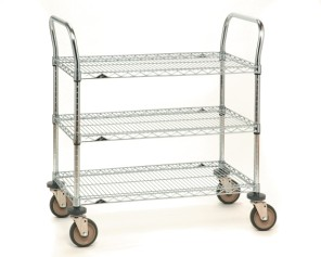 Chrome Finish SP Series Heavy Duty Carts