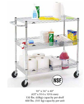 Metro Basket Utility Cart