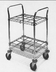 Metro Cleanroom Chemical Transport Carts