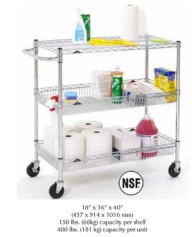Basket Utility Cart