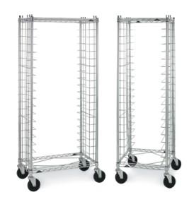End Load & Side Load Wire Bun Pan Racks