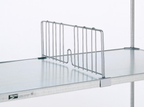 Dividers for Solid Shelving