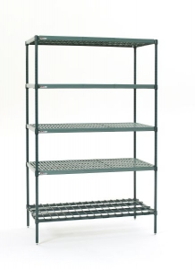 Super Erecta Pro 5 Tier Stationary Unit