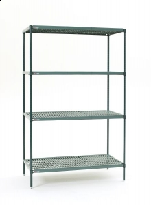 Super Erecta Pro 4 Tier Stationary Unit