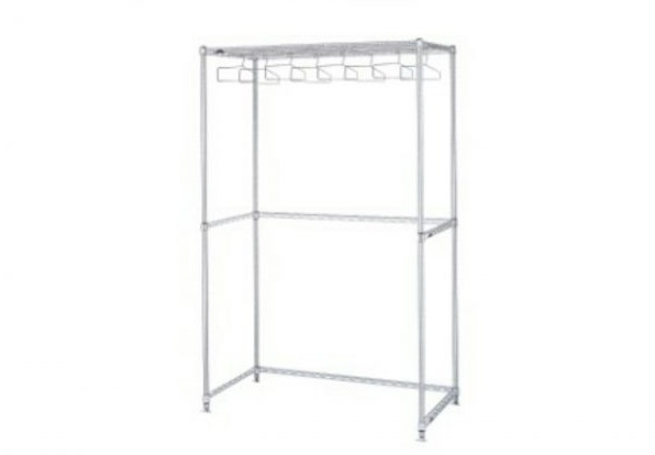 Garment Rack Upright and Wall Mount