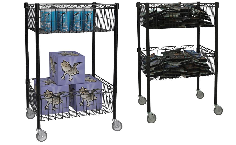 Quick Ship Basket Cart