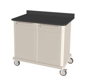Double Wide Mobile Workcenter with Epoxy Top 39