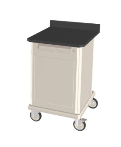 Mobile Workcenters with Epoxy Top Single Standard Duty