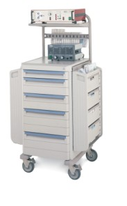 LAR Laproscopic/Lab Procedure Cart