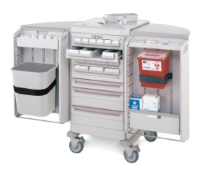 LAR Anesthesia/Dose Med Cart