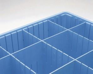 Tote Dividers Benstat Blue