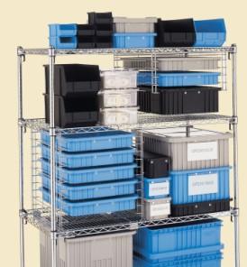 Divider Boxes Natural Polypropylene