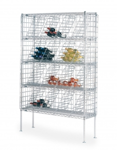 Bulk Wine Shelving