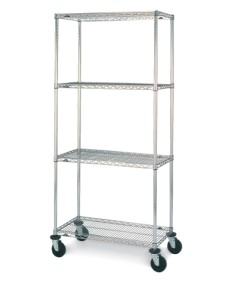 Stem Caster Cart 4 Tier