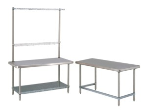 HD Super Worktable with Overhead