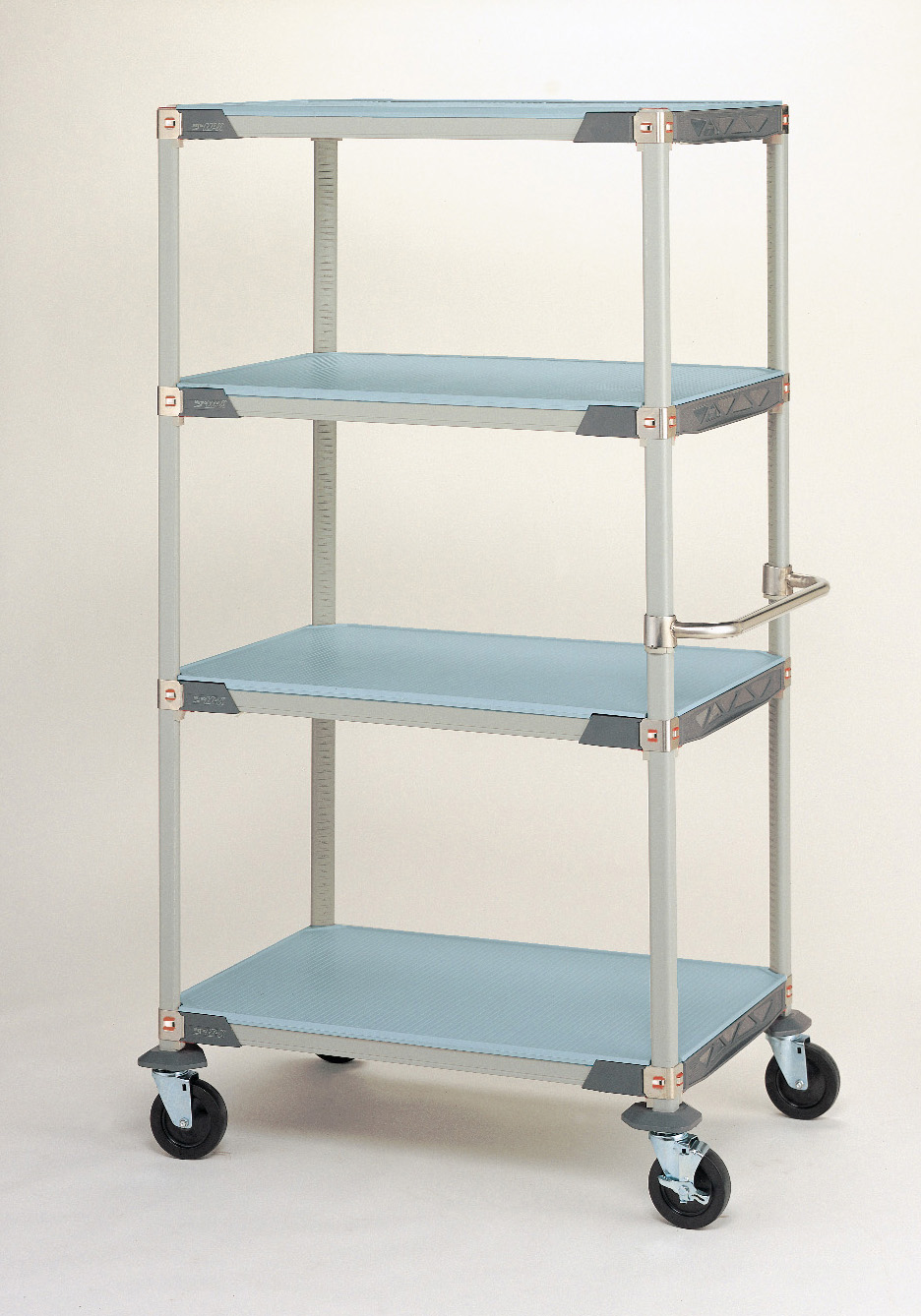 MetroMax i Solid Shelf Stem Caster Carts