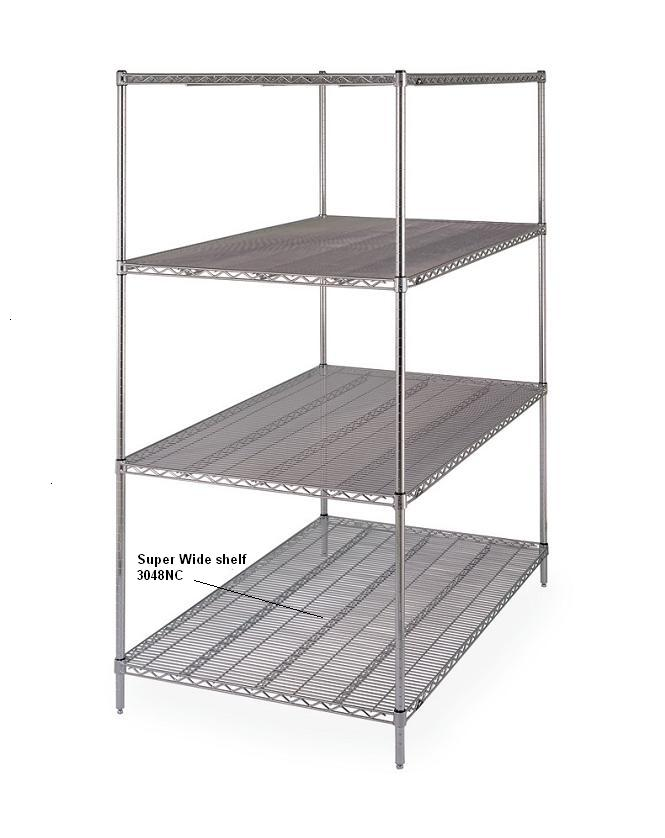 Metro Super Wide Shelving Units