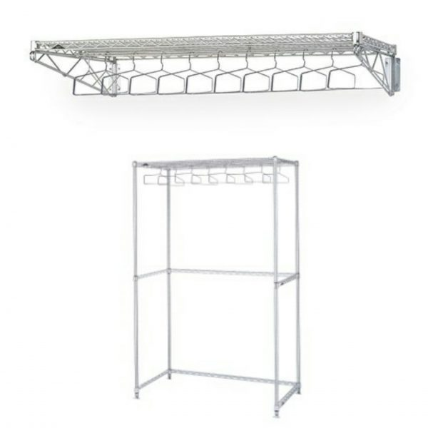 Metro Gowning Room Garment Racks